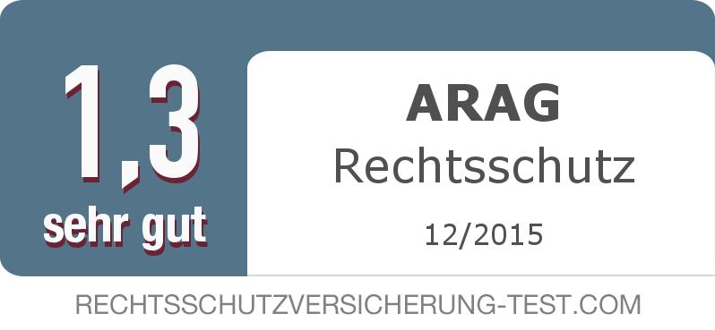 Testsiegel: ARAG Rechtsschutz width=