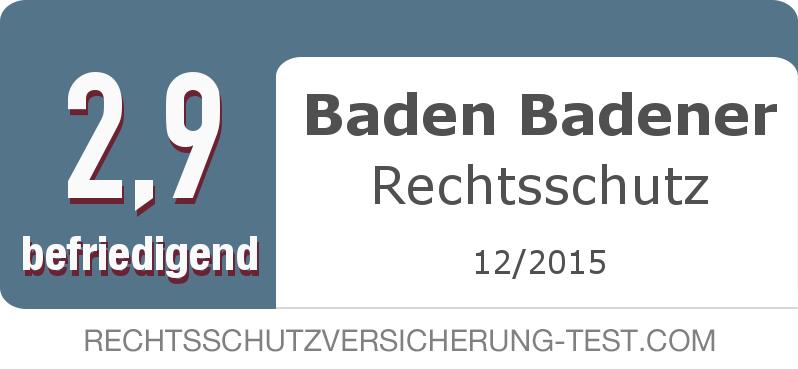 Testsiegel: Baden Badener Rechtsschutz width=