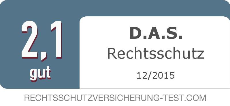 Testsiegel: D.A.S. Rechtsschutz width=