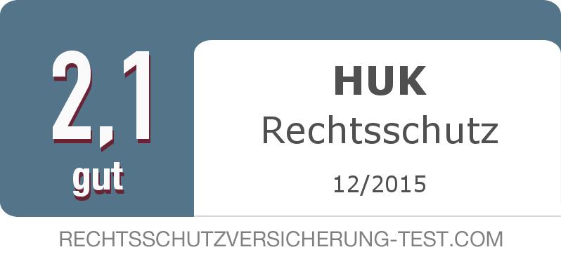 Testsiegel: HUK Rechtsschutz width=