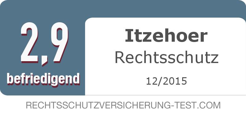 Testsiegel: Itzehoer Rechtsschutz width=
