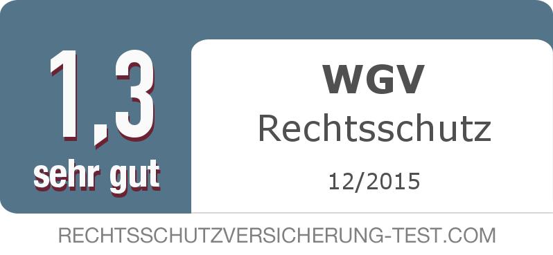 Testsiegel: WGV Rechtsschutz width=