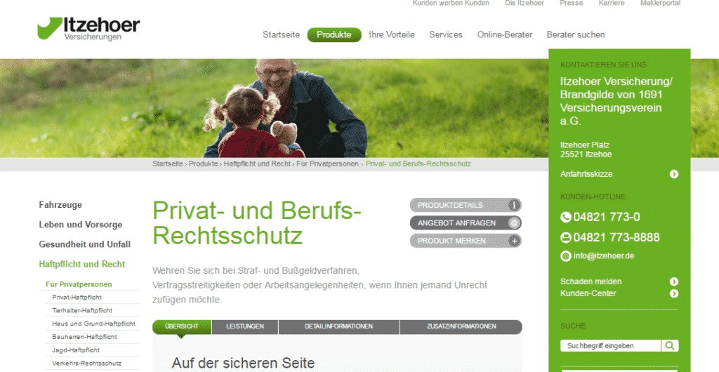 Das Webportal der Itzehoer