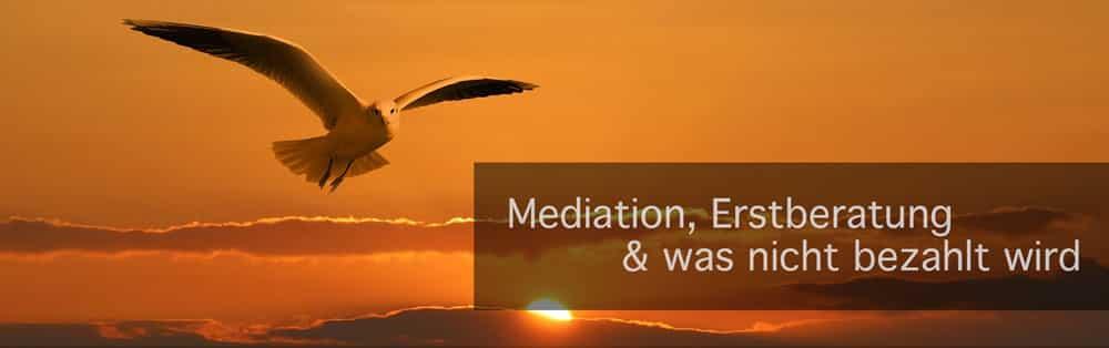 Alles über Mediation, Erstberatung und was nicht bezahlt wird